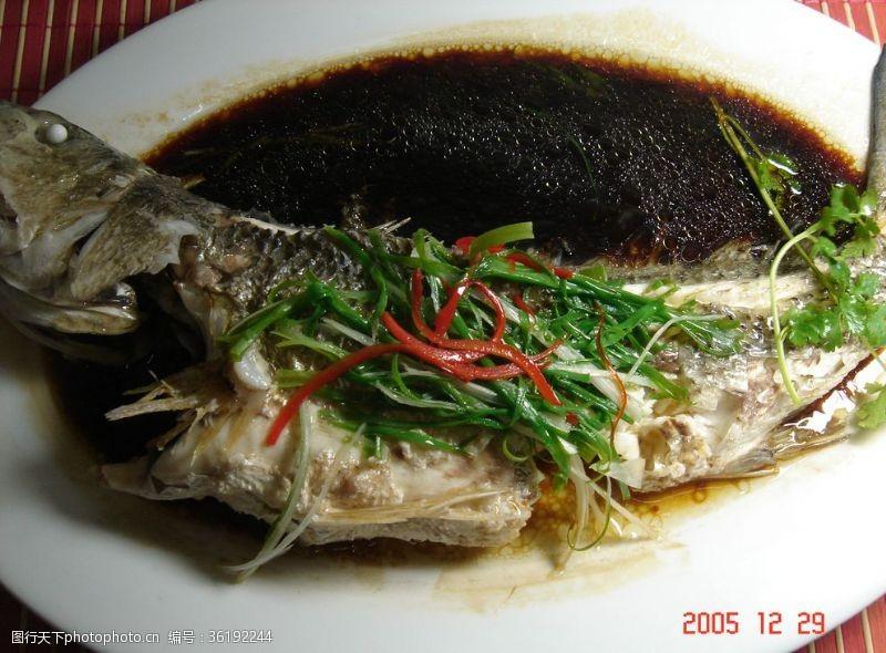 清蒸魚素材