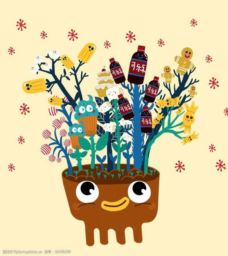 夏日甜品甜品樹