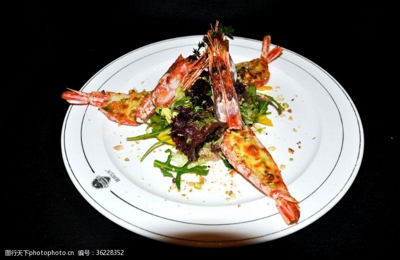 菜單菜譜紅蝦蝦