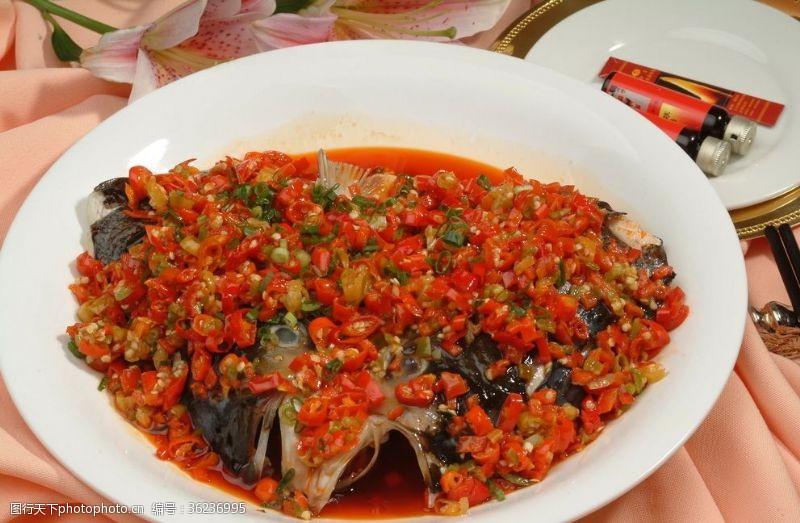 清蒸魚剁椒蒸大魚頭