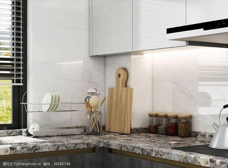 室內設計廚房特寫