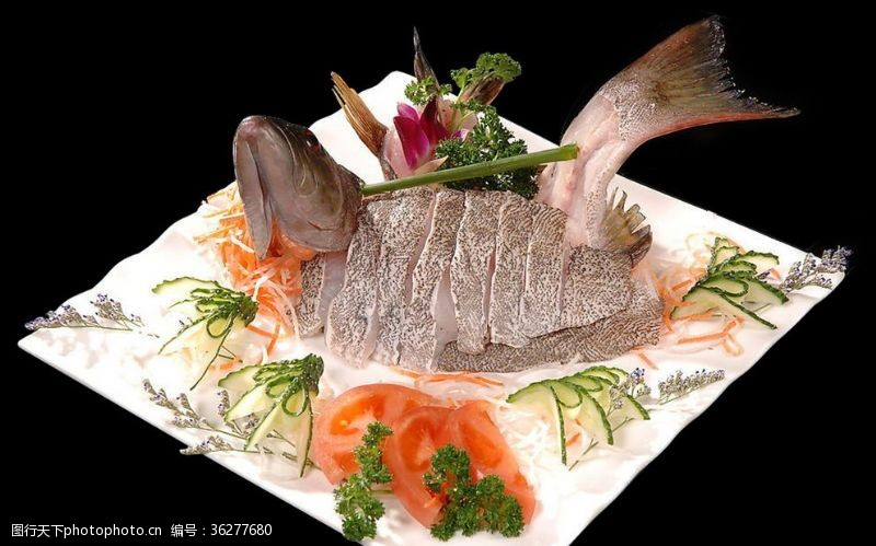 清蒸魚大海斑魚