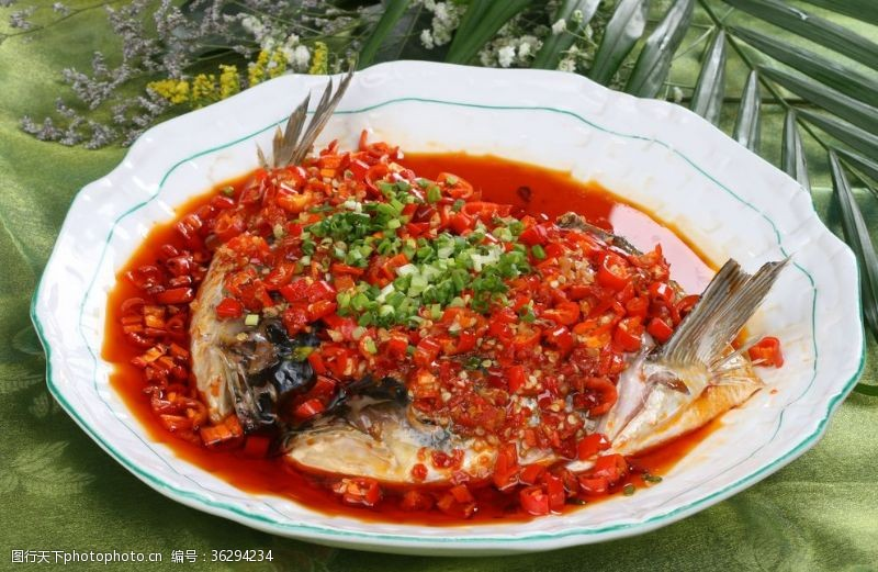 清蒸魚剁椒魚頭