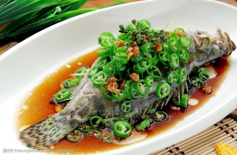 清蒸魚椒汁桂魚