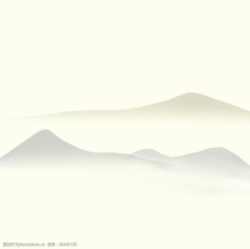 中國風封面山水畫