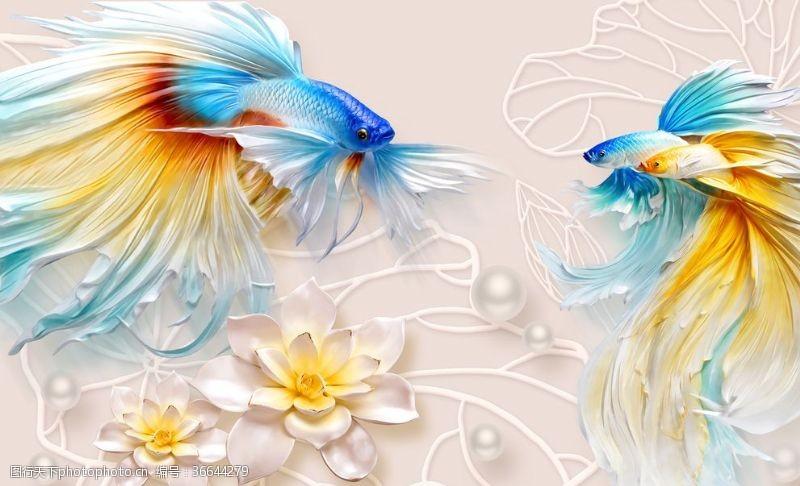 psd分層素材美人魚