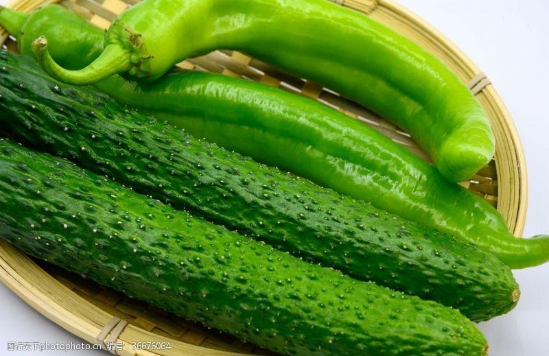減肥黃瓜與尖椒