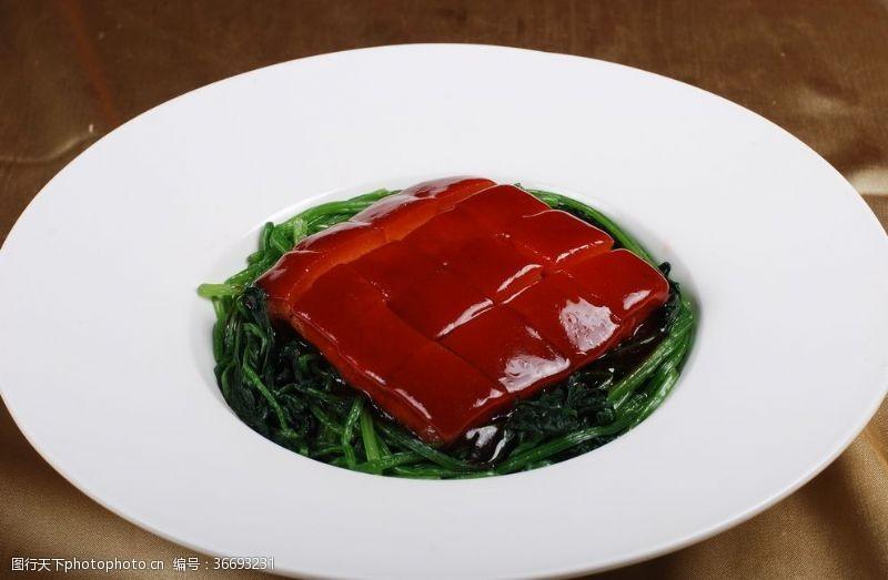 酒店東坡肉東皮肉