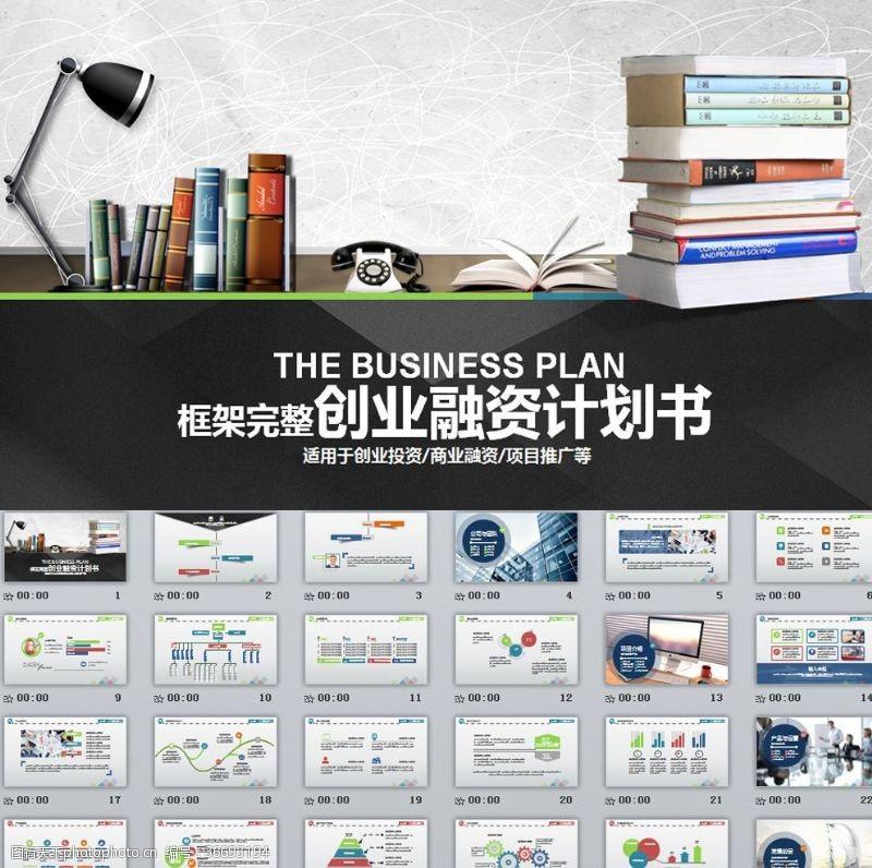 其他創業融資計劃書PPT