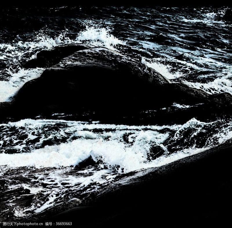 300dpi海浪