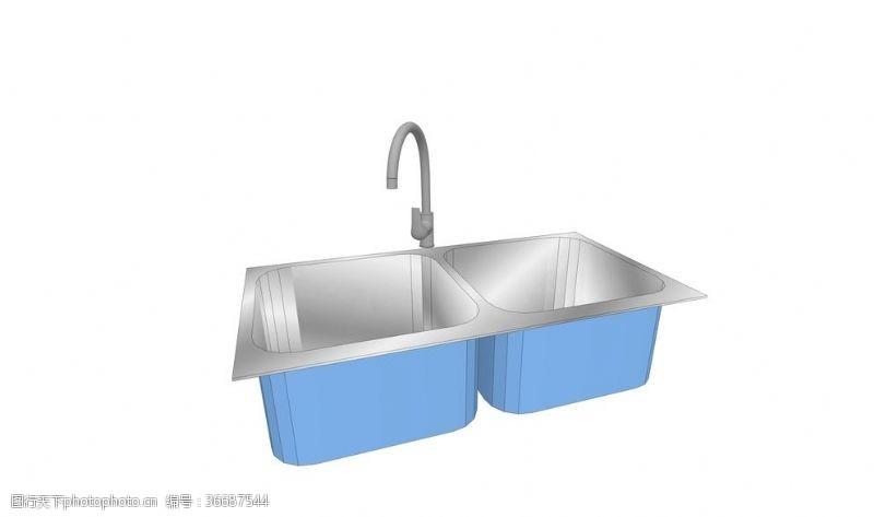 廚房清洗池