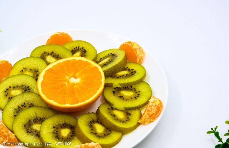 小清新水果拚盤