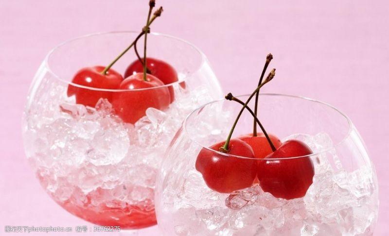 夏天櫻桃飲品