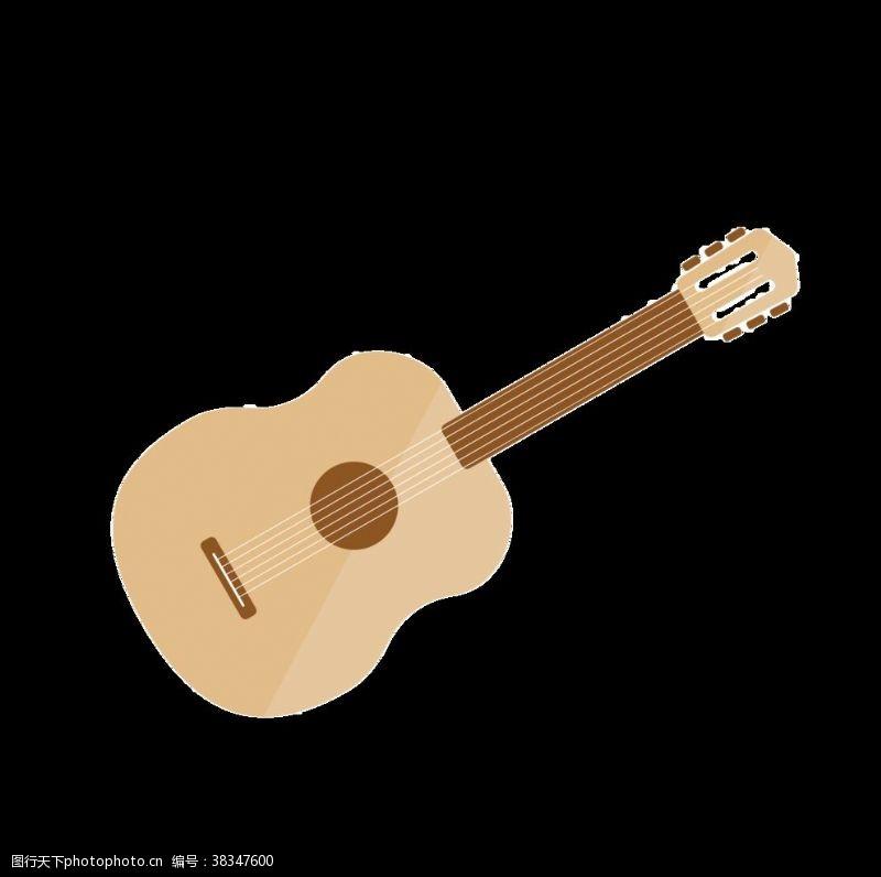 吉他矢量圖