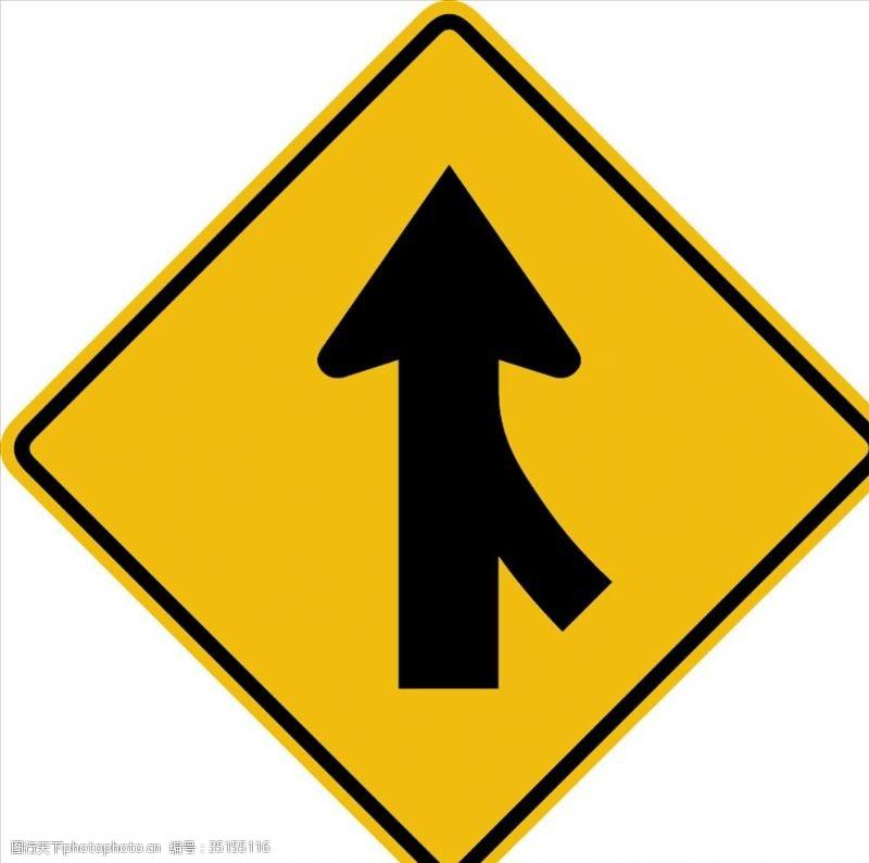 traffic外国交通图标右侧并道图标标
