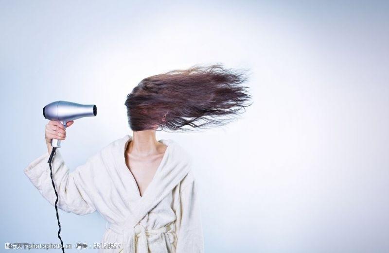 吹头发吹风机