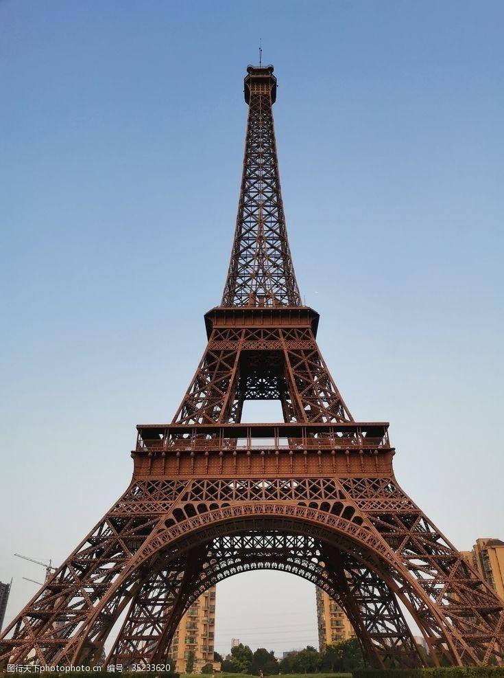 余杭杭州天都公园埃菲尔铁塔