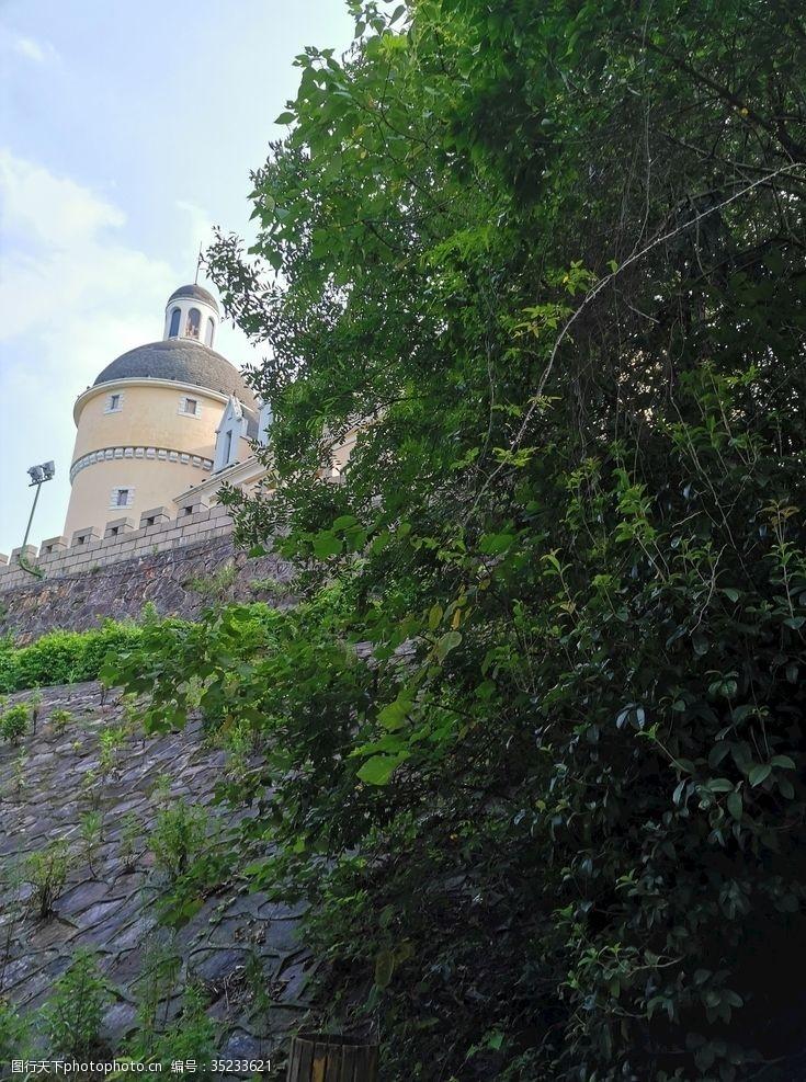 余杭杭州天都公园法国建筑城堡