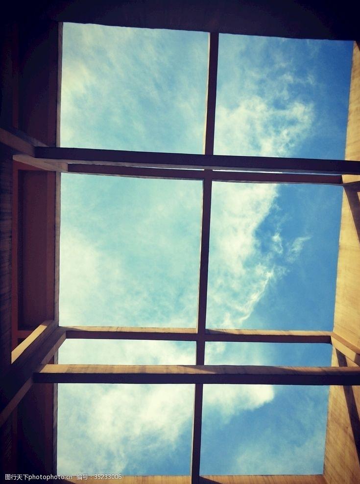 艺术天空天台建筑艺术