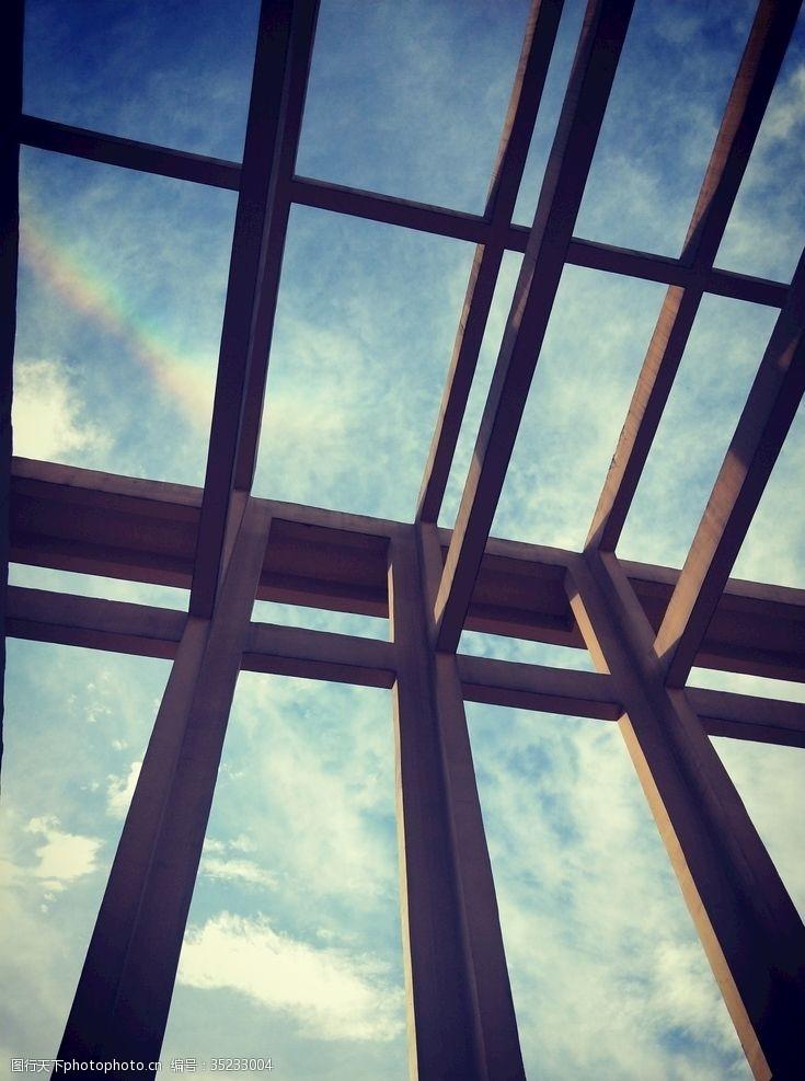 艺术天空建筑与天空后现代建筑艺术