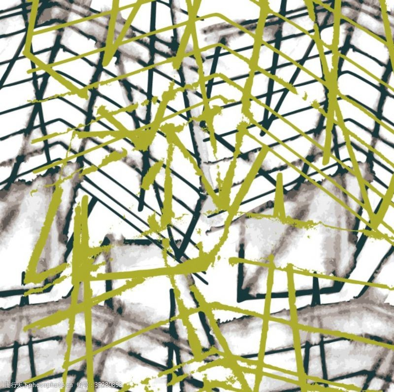矢量花纹背景抽象几何填充