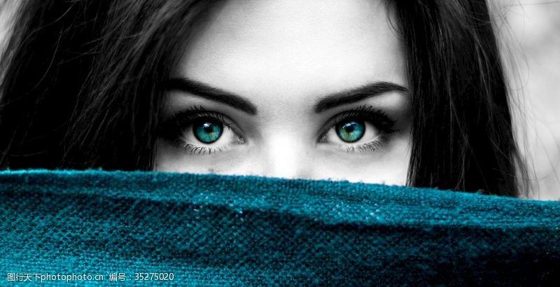 蓝眼睛眼睛