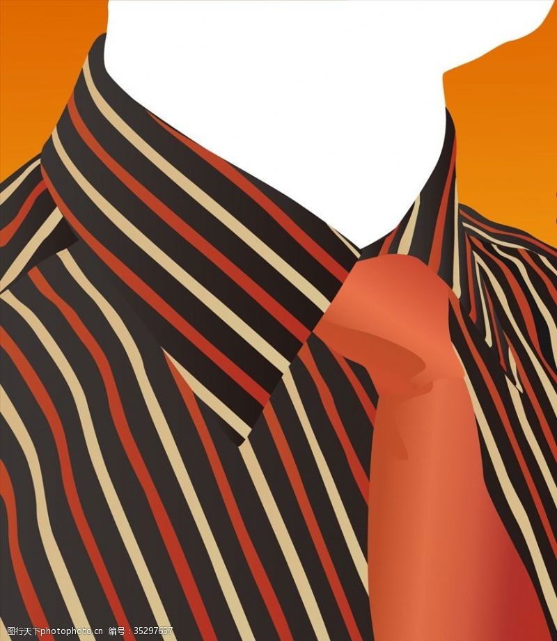 成功男士男士衬衫领带商务休闲