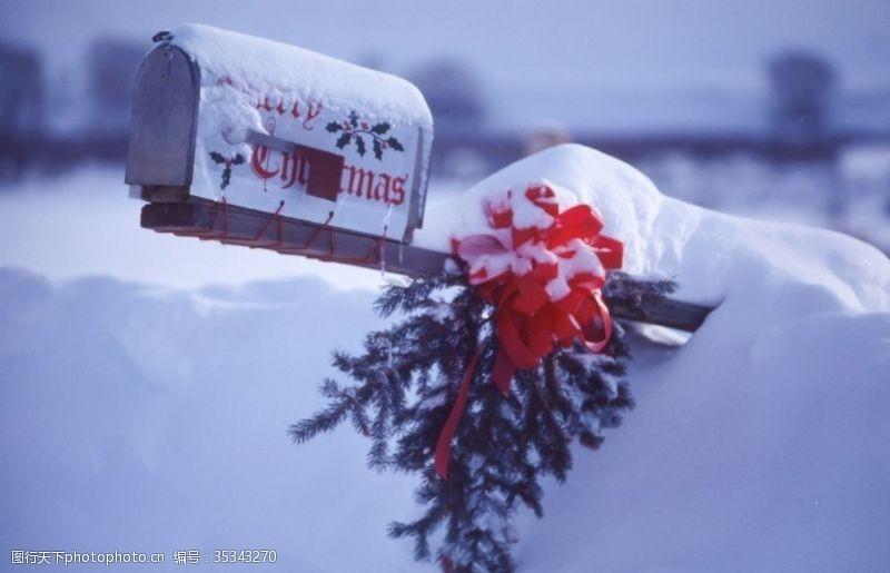 店招背景圣诞背景