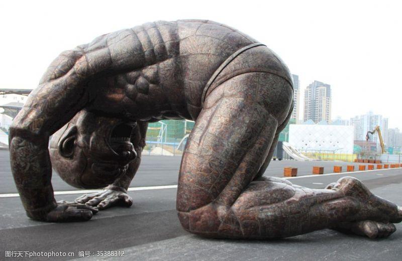 上海当代艺术博物馆雕塑
