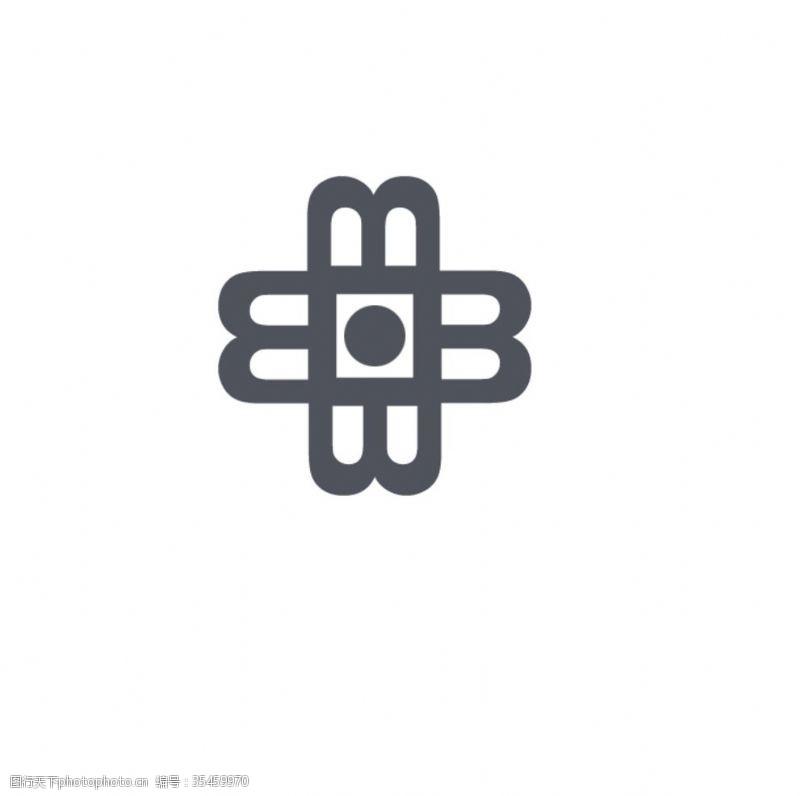 整形菊花标志