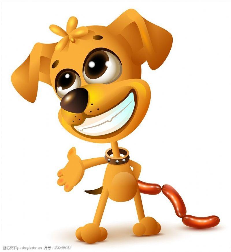 家宠卡通小狗