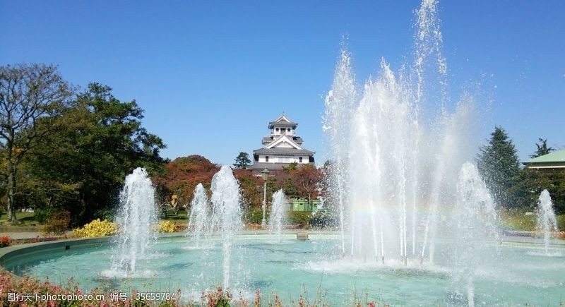 喷泉景观设计