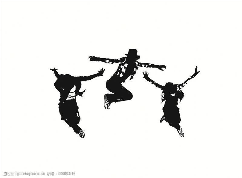culture卡通街舞人物