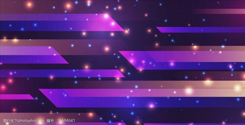 淡紫色背景紫色几何背景
