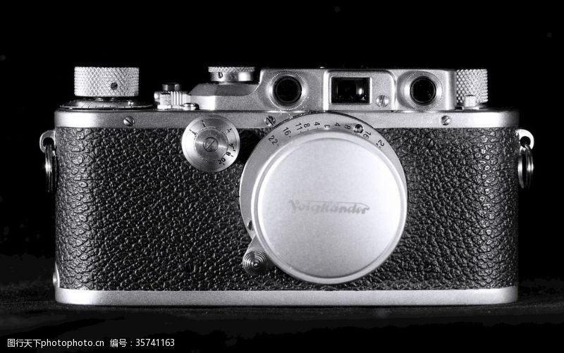 银白LeicaIIIb胶片古董相机