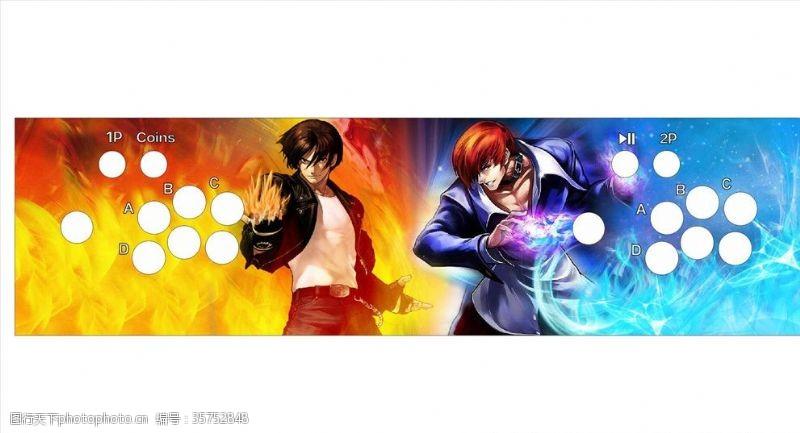 动漫电玩拳王97海报