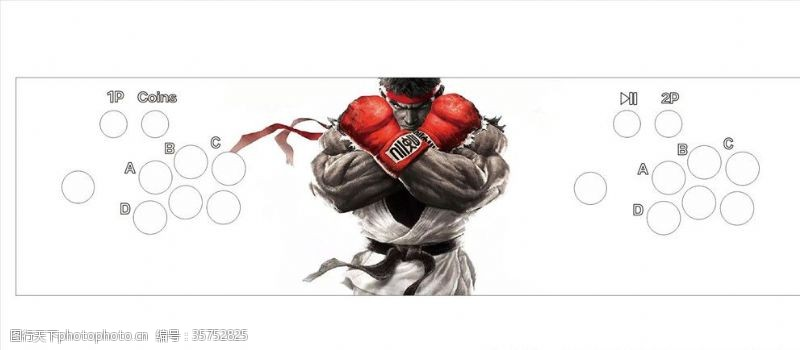 动漫电玩拳王海报