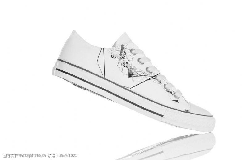 品牌运动鞋帆布鞋样机