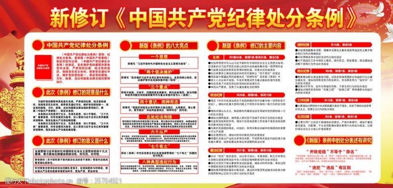 解读纪律处分新修订中国共产党纪律处分条例