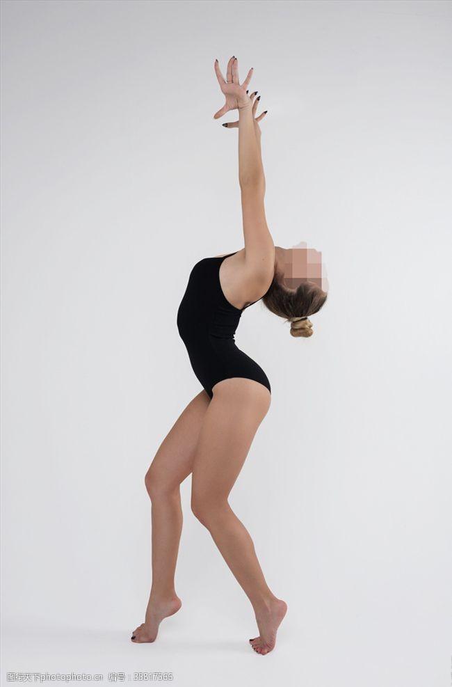 健身体操美女