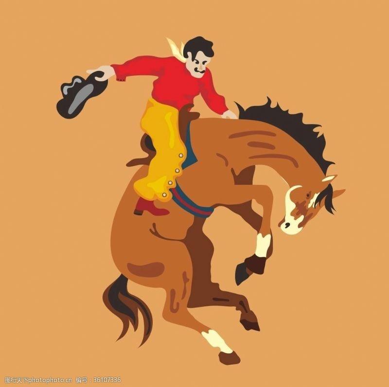 体育竞赛美国西部牛仔竞技