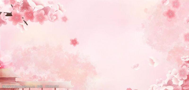 樱花主题樱花背景