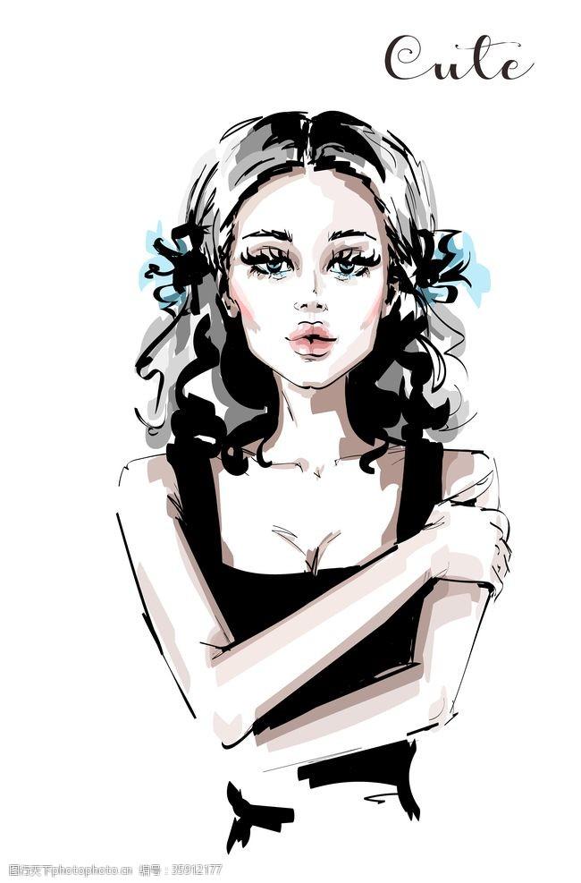 国外美女时尚美女