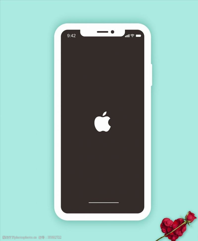 苹果手机矢量图