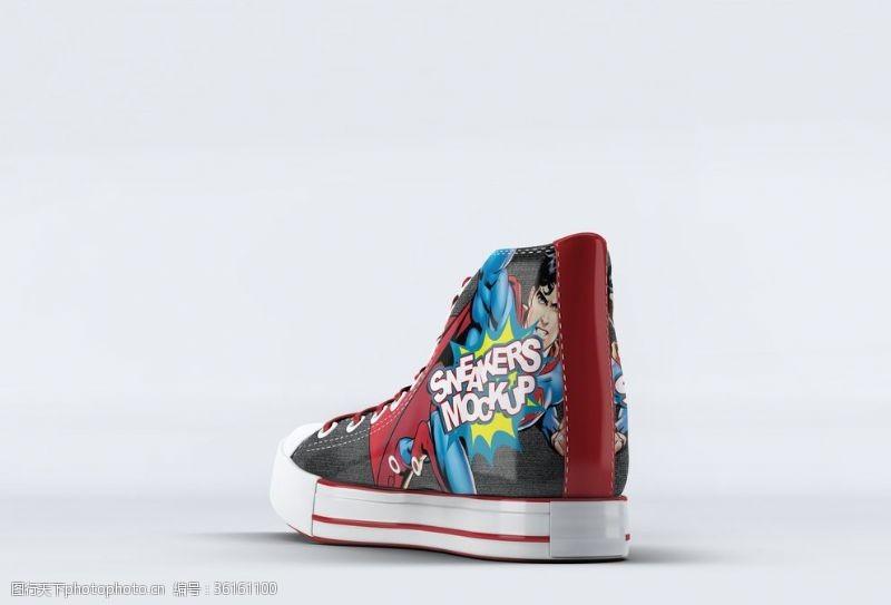 品牌运动鞋休闲鞋样机