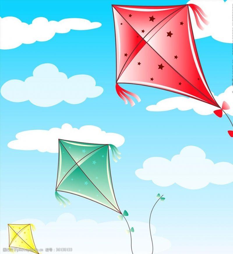 放纸鸢风筝