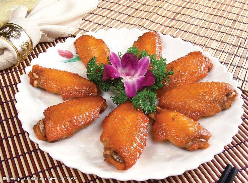 蜜汁鸡翅风味鸡翅