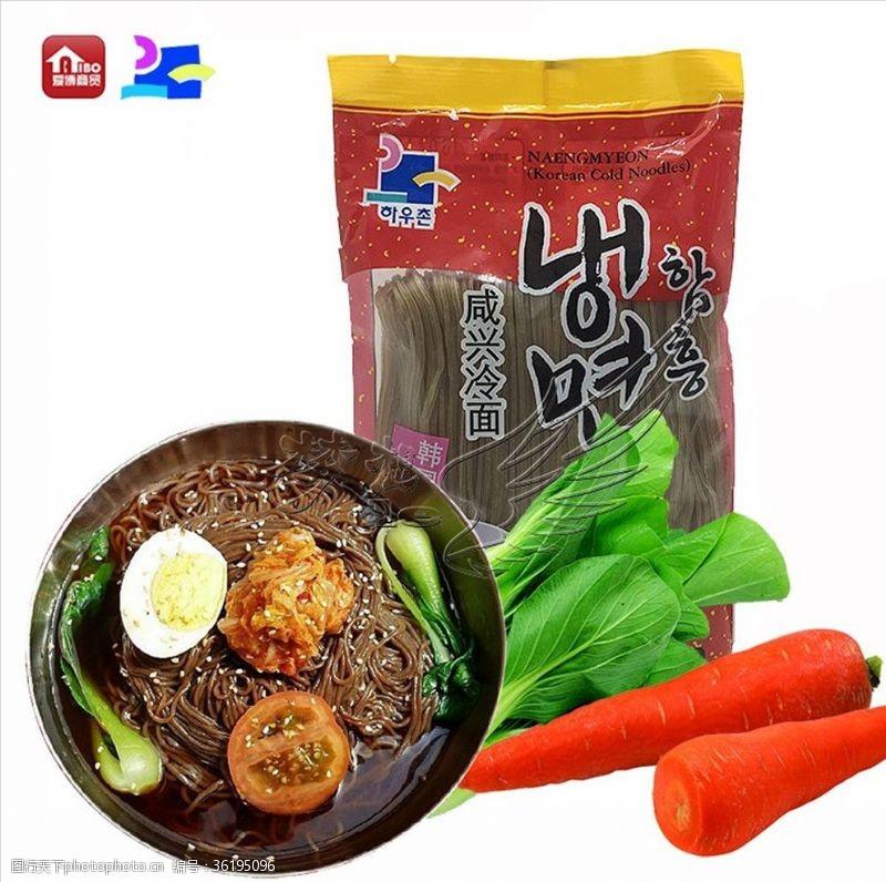 韩国闲兴荞麦冷面面条