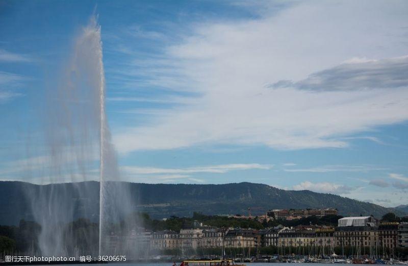 喷泉景观人工喷泉