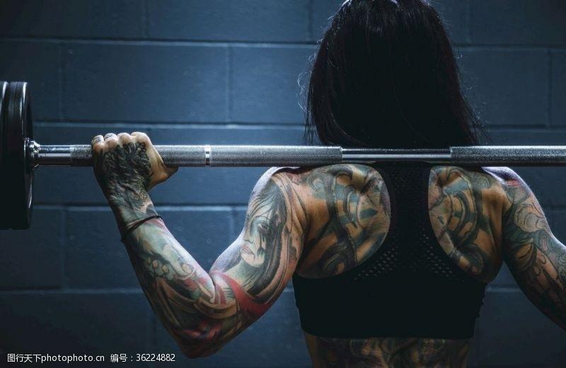 sport健美健身女性
